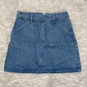 Cotton On A-line Denim Skirt
